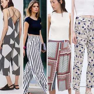 Looking For: Topshop/Zara/F21 Culottes in S OR XS