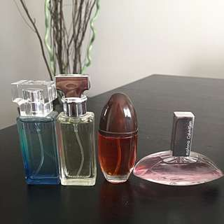 Calvin Klein Sample Perfume Pack Of 4