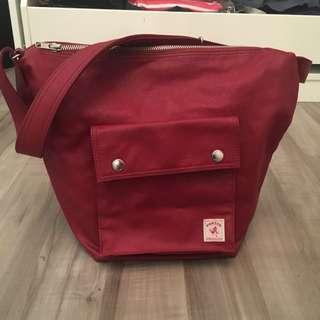 Porter Milky Shoulder Bag In Red