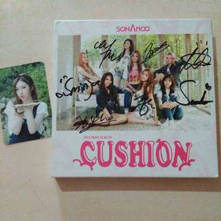 Signed CD Sonamoo - Cushion