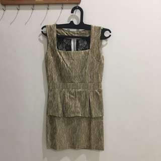 mini dress pesta