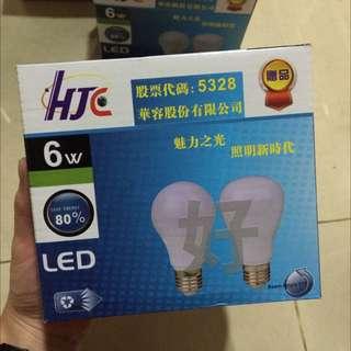 🚚 LED燈泡6w聚光散光
