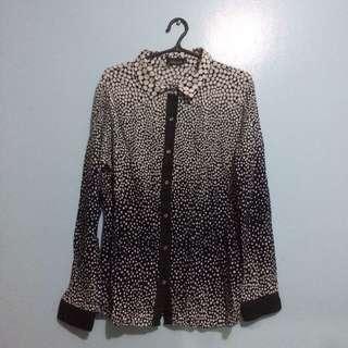 Polka Dot Top (Office Clothing)