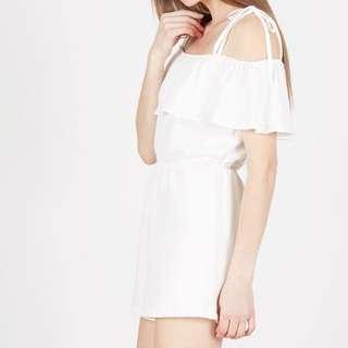Look Boutique Store - Daisy Jumpsuit White