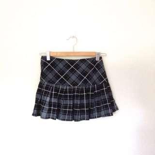 Supre Tartan Black Skirt