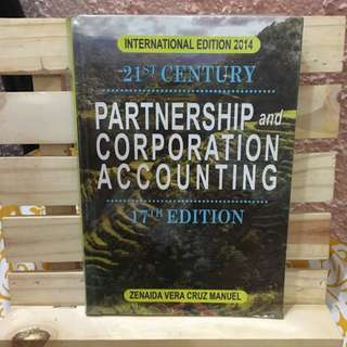 Partnership And Corporation Accounting By Manuel