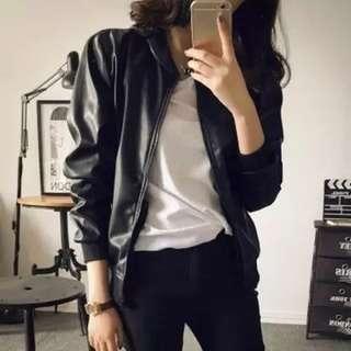 <PO> PU Jacket // Outerwear