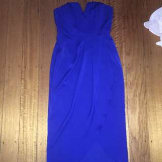 NEED GONE BEFORE NEW YEARS EVE Blue Flowy Dress