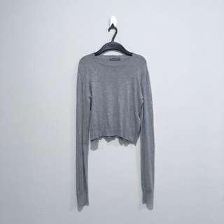 Bershka Knit Crop Top