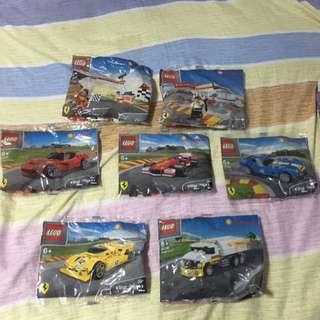 Lego Shell V-power 40191-40196