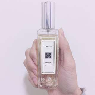 Jomalone 牡丹與粉紅麂皮 30ml