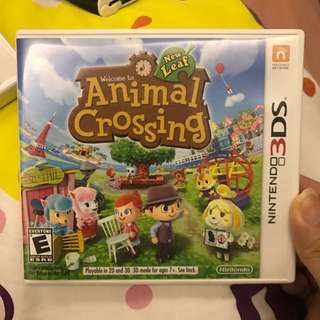 3DS Animal crossing New Leaf