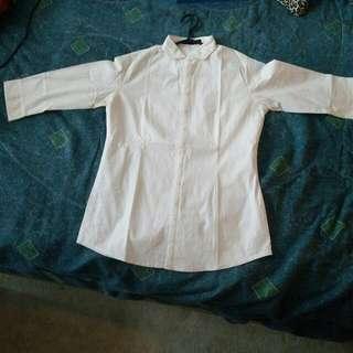 White Stretchy Shirt