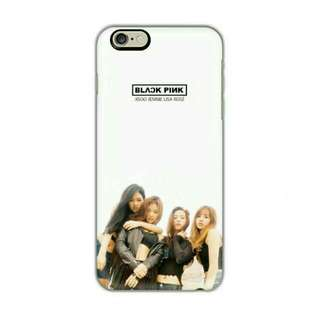 Black Pink Customised Phone Case