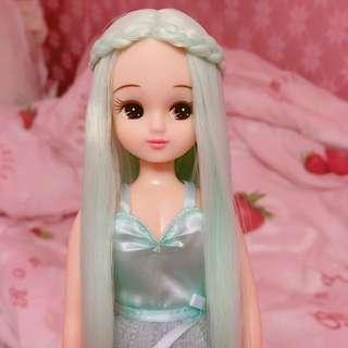 莉卡 Licca 城堡 娃展 薄荷綠 蒂芬妮綠 夢幻 芭比 Barbie 娃娃