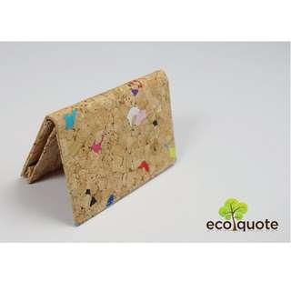 EcoQuote Namecard Holder Handmade Cork Material
