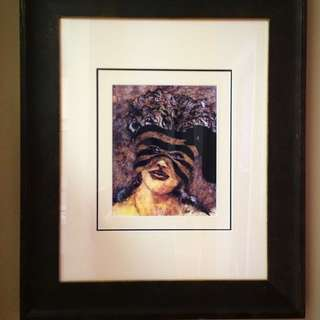 Solid Wood Framed Art