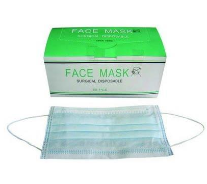 Earloop Surgical Face 3ply 50pcs Disposable Health Mask box