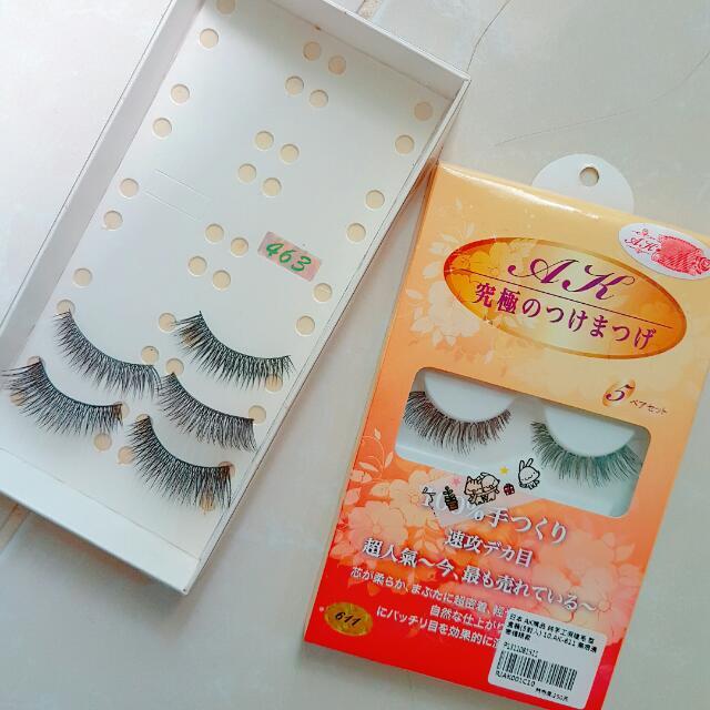 [日本製] AK 日本製 洋娃娃假睫毛 濃密自然 自助婚紗必備