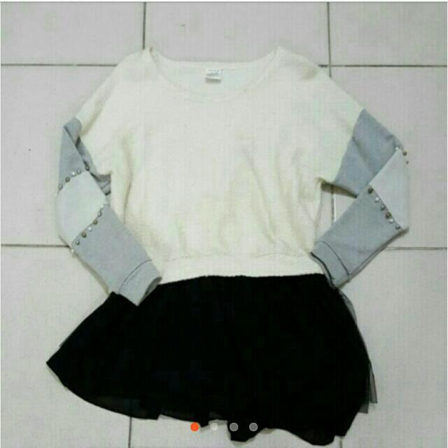 韓版毛衣洋裝