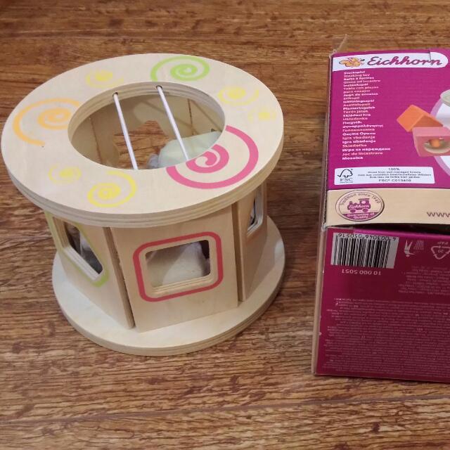 德國愛爾森智力輪 寶寶形狀顏色認知組