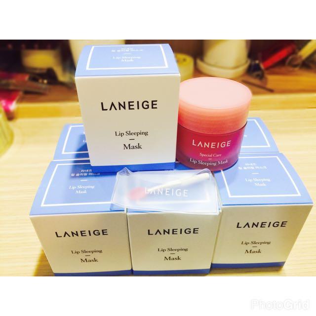 韓國 LANEIGE蘭芝 睡美人極萃滋養晚安唇膜