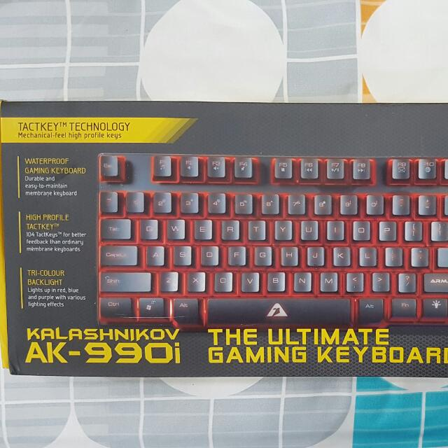 Armaggeddon Gaming Keyboard AK-990i, Electronics, Computer Parts & Accessories on Carousell