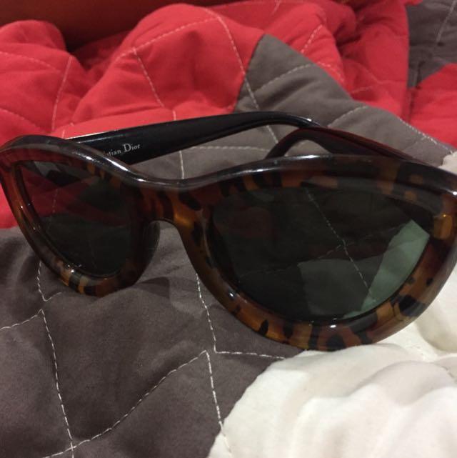 Authentic Christian Dior Cat Eye Sunglasses