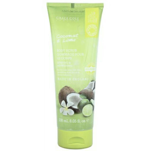 Body Scrub Coconut & Limette