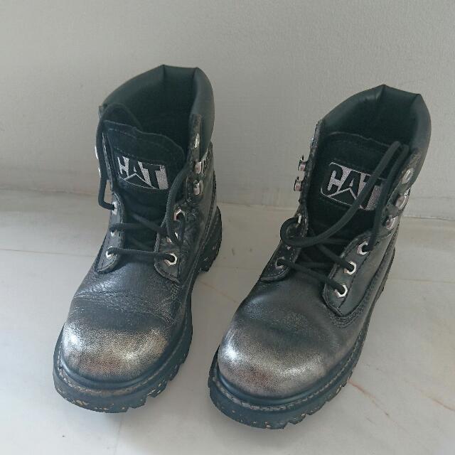Cat Colorado Boots In Black Silver a50c3b6a5f