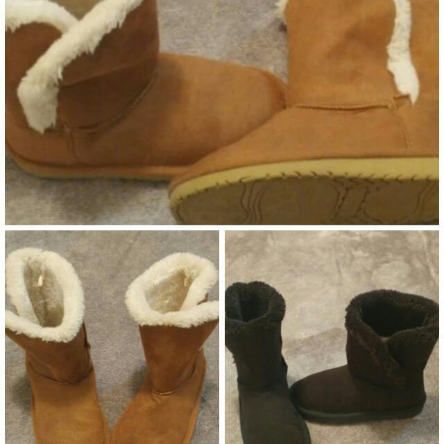 Children's Place Girl's Faux Fur Boots