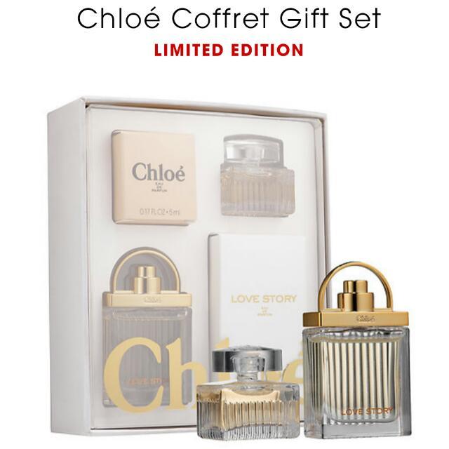 Chloe Perfume Gift Set Health Beauty Hand Foot Care On Carousell