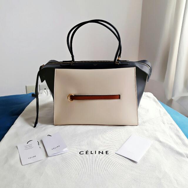 Céline Tricolor Ring Bag