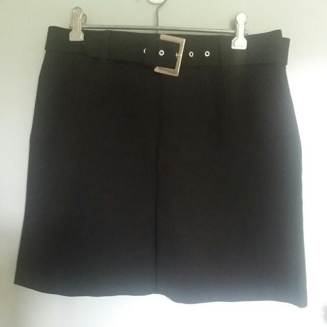 Country Road Formal Black Skirt
