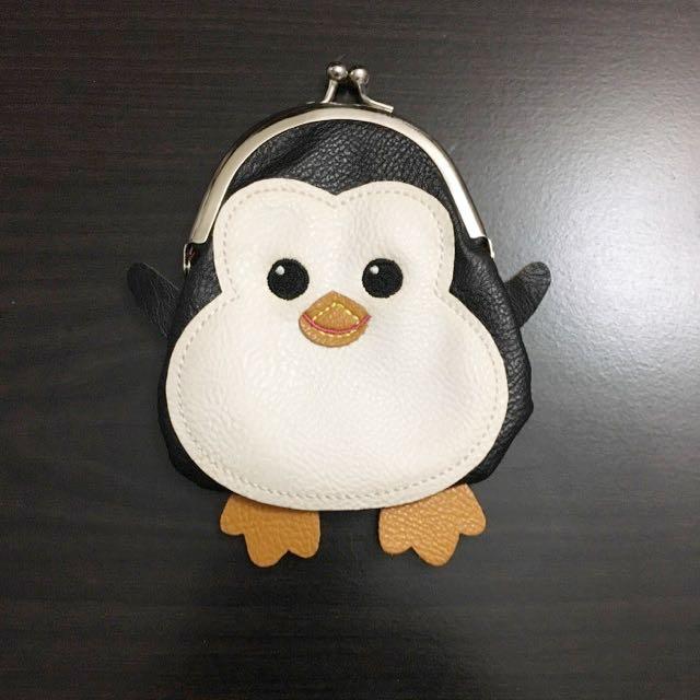 Cute Penguin Coin Purse NWOT