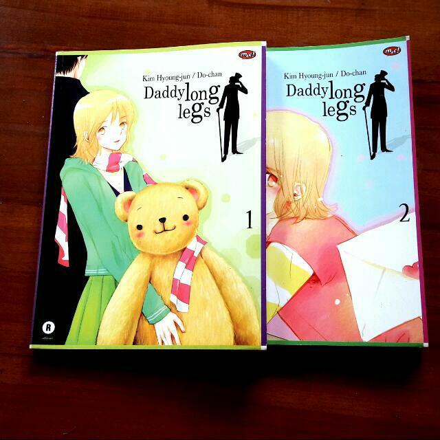 Daddy Long Legs Comic Series 1-2