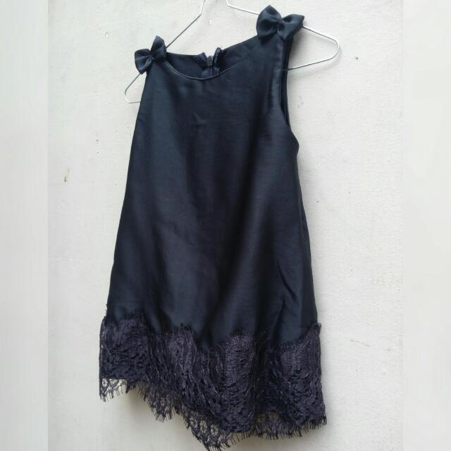 Dress Pesta Bayi Hitam