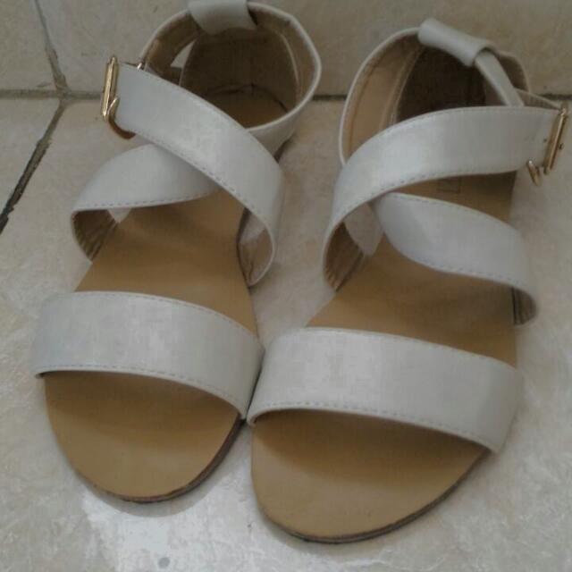 flat sandal velvet