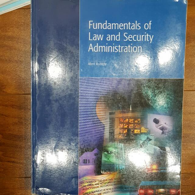 Fundamentals of Law & Security Admin
