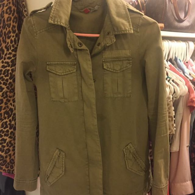 Green Jacket From H&M