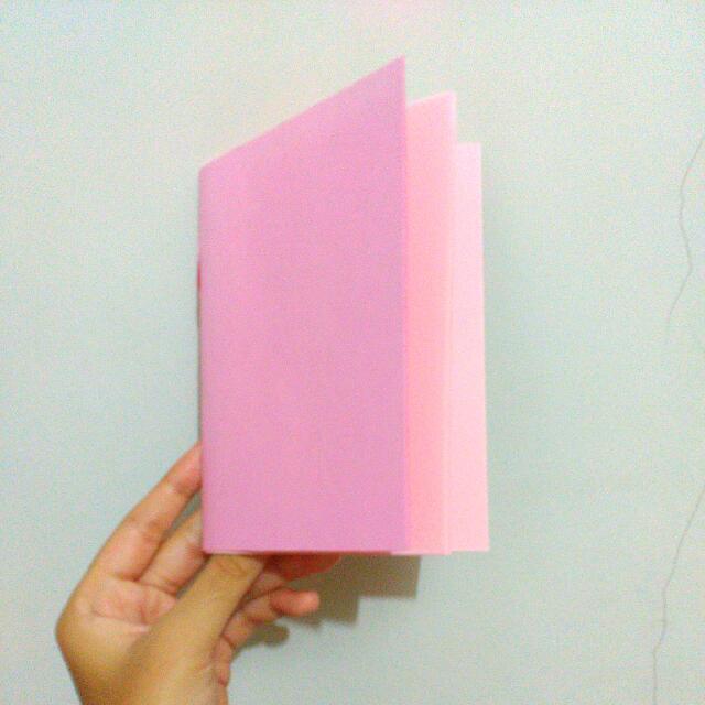 Handmade Book Pink
