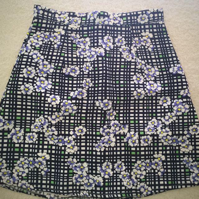 High Waisted Skirt
