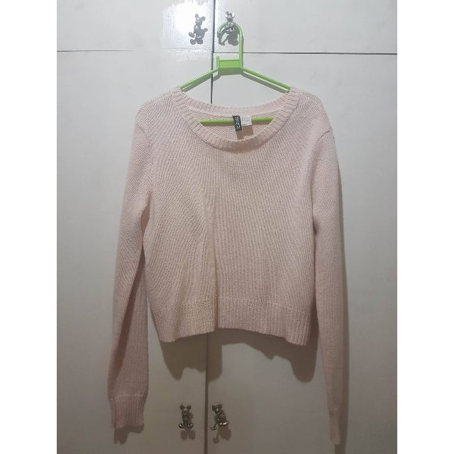 H&M (Divided) - Pale Pink Sweater
