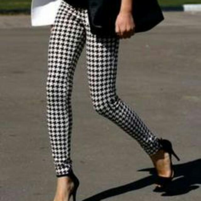 Houndstooth Pants Size 8