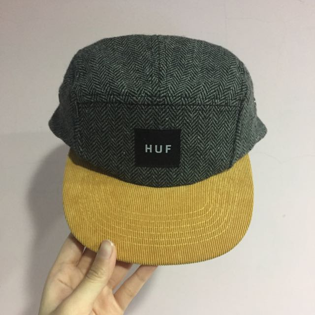 huf燈芯絨帽