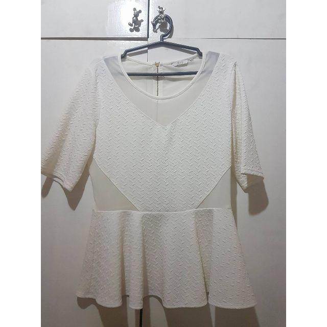 Iconic - White Blouse