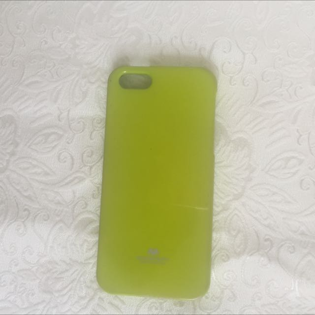 IPHONE 5 LIME CASE