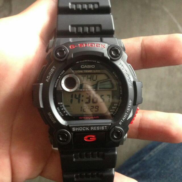 Jam Tangan Casio G-shock G9700 Original Baru 2bulan Pakai Garansi Masih Ada