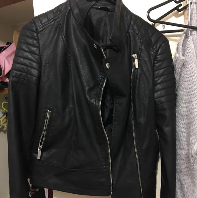 Jayjays leather Jacket Size 6
