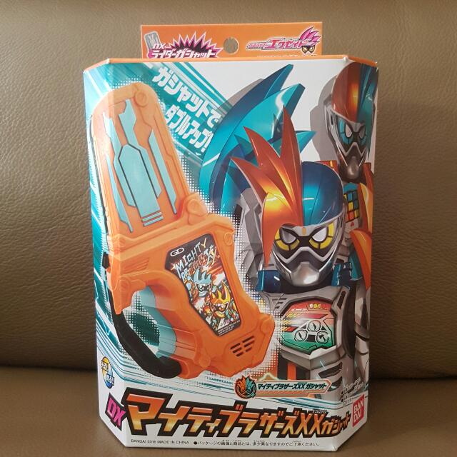 Kamen Masked Rider Ex-Aid - DX Mighty Brothers Double XX Gashat, Toys &